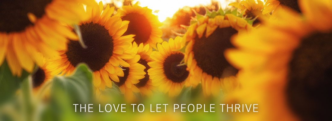 The love to let people thrive